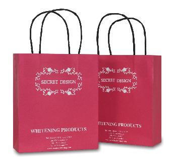 ถุงกระดาษ Secret Design โดยบริษัทผู้ผลิต ผลิตภัณฑ์บำรุงผิวคุณภาพสูง เทียบเท่าแบรนด์ชั้นนำ ที่เน้นคุณภาพและความปลอดภัยเป็นหลัก เป็นผลิตภัณฑ์จากสารสกัดเข้มข้นจากธรรมชาติ