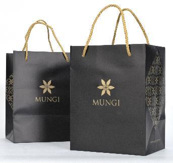ถุงกระดาษขนาดเล็ก  MUNGI